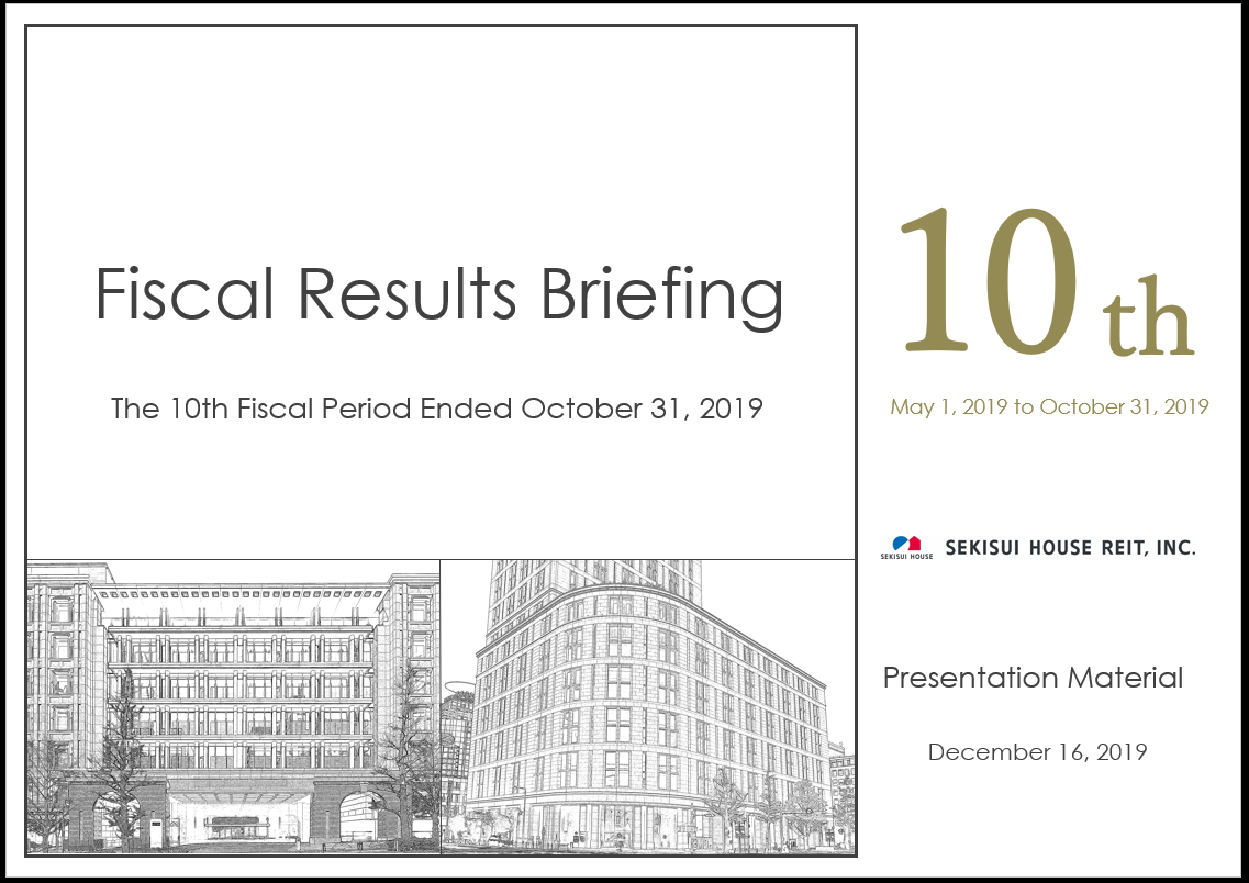 Presentation Material for the 10th Fiscal Period